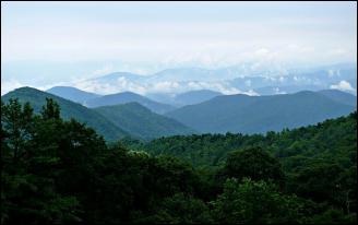 Blue Mountain Ridge, North Carolina